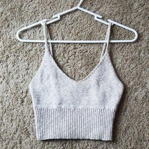 Beautiful knit crop top